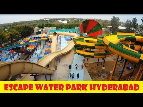 Escape Water and Amusement Park || Adventure Water Park Hyderabad || HD