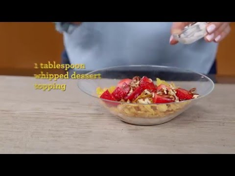 Wafflicious Breakfast Bowl Recipe - Kellogg's Corn Flakes