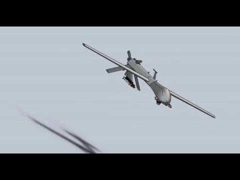 MQ-1 Predator Drone Solidworks Project