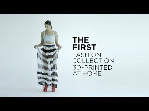 3D Printing Fashion: How I 3D-Printed Clothes at Home
