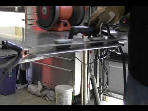 Cutting aluminum with plasma
