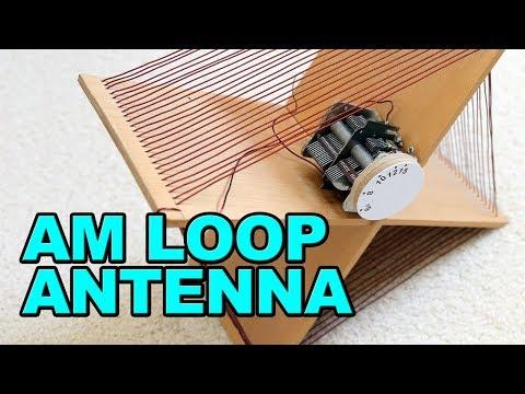 AM Loop Antenna - Very Effective - DIY
