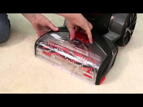 BISSELL Proheat 2X Revolution Suction Troubleshooting