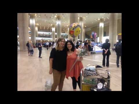 Israel Aliyah vlog 5: about airport paperwork, changing my name and my first night