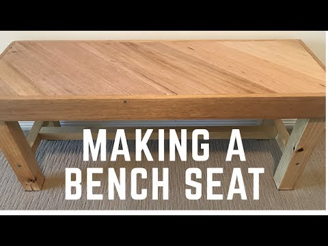 Making a Bench Seat