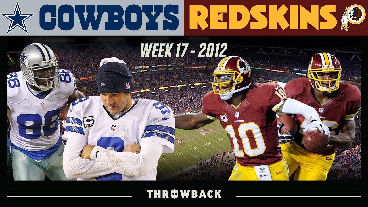 The NFC East Championship! (Cowboys vs. Redskins 2012, Week 17)
