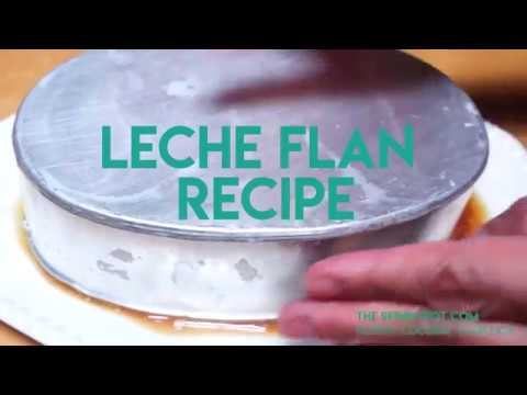 3 Ingredient Leche Flan Use the Egg Whites to Make Puto Cheese.