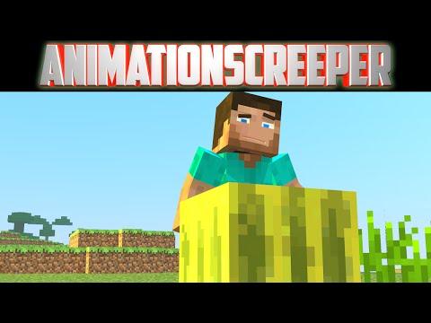 The Melon Block -  Minecraft Animation