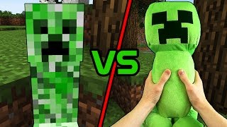 Minecraft VS Realistic Minecraft