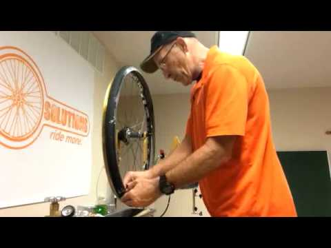 checking fluid and maintaining tubeless tires