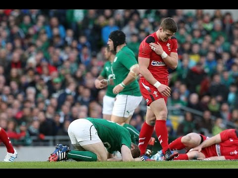 6 Of The Best Tackles: 2014 RBS 6 Nations Championship