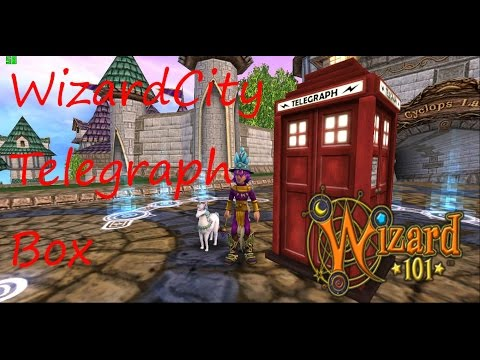 Wizard101: WizardCity Telegraph Box Quest