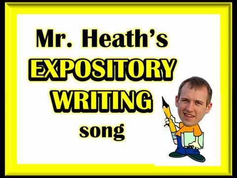 EXPOSITORY WRITING SONG (How to write a 5 paragraph essay) by Heath