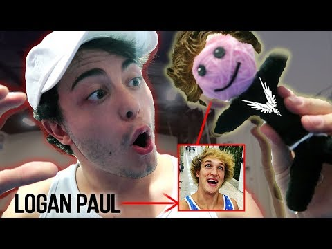 MAKING A LOGAN PAUL VOODOO DOLL AT 3 AM *WHAT HAPPENS WHEN YOU MAKE A LOGAN PAUL VOODOO DOLL AT 3AM*