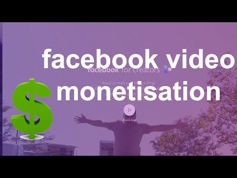 Facebook video Monetization💲Signup | Facebook for Creator