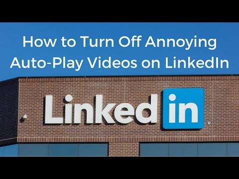 How to Turn Off Annoying Autoplay Videos on LinkedIn