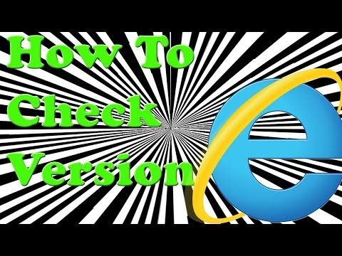 How To Check Version Of Internet Explorer