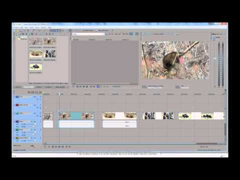 Sony Vegas Quick Tips: Fastest Way to Trim Clips in the Timeline