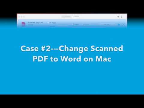 How to Change PDF to Word on Mac (Not Losing Quality)