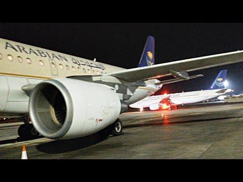 SAUDIA A320 Flight Review : Tabuk to Jeddah SV1558