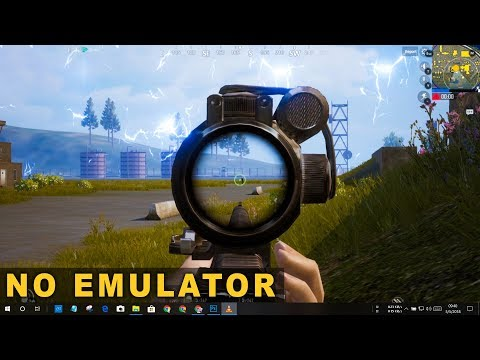 Play Official PUBG MOBILE Game On Your PC (NO EMULATOR)