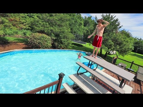 DIY DIVING BOARD!