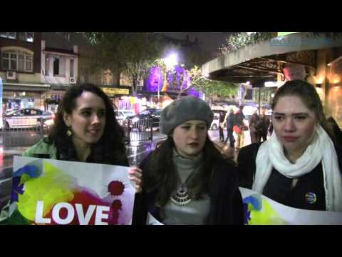 Marriage equality street party