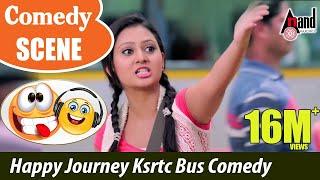 Male   Amulya Prem happy journey - Ksrtc Bus Comedy