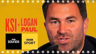 KSI v Logan Paul bigger than Joshua - Eddie Hearn   BBC Sport