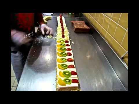 how to make slice cake and tarts