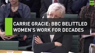"""Carrie Gracie: """"BBC belittled women"""
