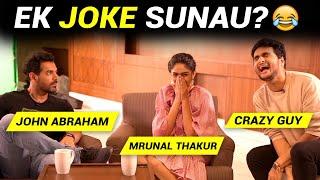 EK JOKE SUNAU? Ft. John Abraham, Mrunal Thakur | Anmol Sachar | Batla House | Funny Hindi Vines