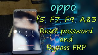 OPPO A3 F7 Vivo V5 Y83 Y83 Pro pattern unlock cm2 dongle New support