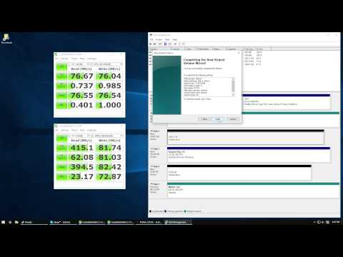 TUTORIAL: Creating a Raid 0 using a HDD and SSD of different sizes