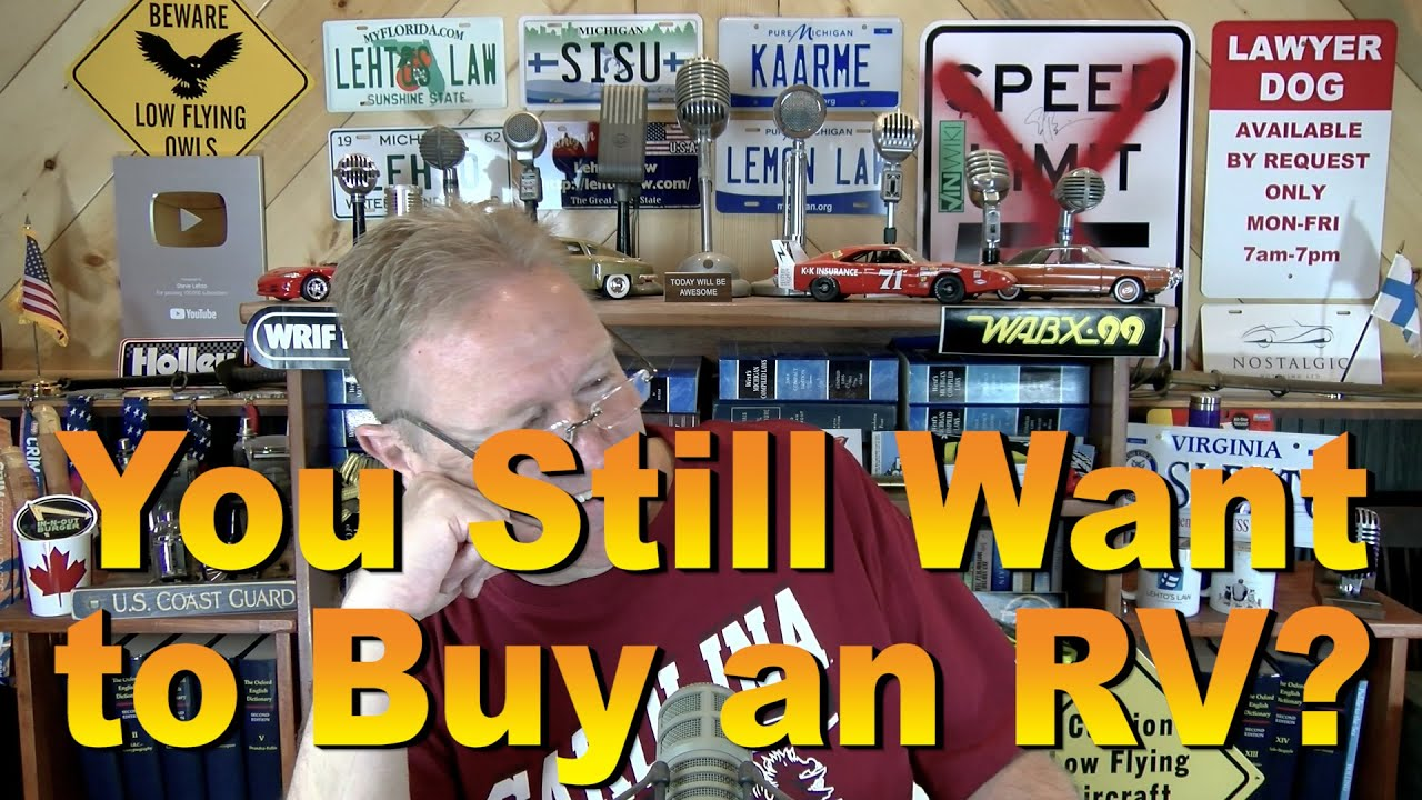 Do You Still Want to Buy an RV?