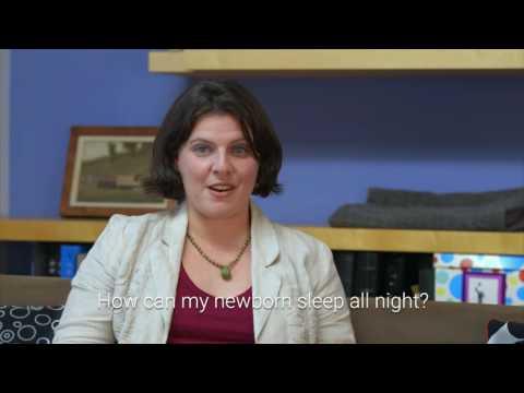 How can my newborn sleep all night? - Dr. Erin Leichman