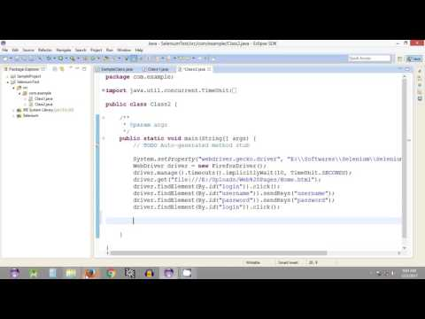 Selenium Tutorial #20 - Selenium WebDriver - Getting Text from Web Page