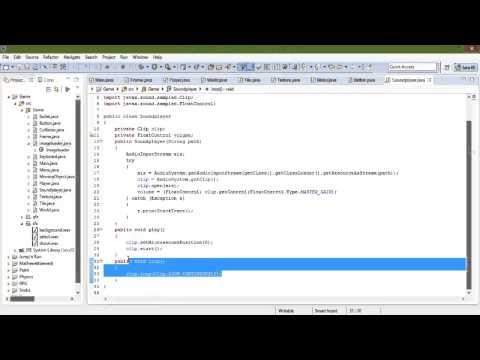 Java Spieleentwicklung 22 - Sounds (.wav)