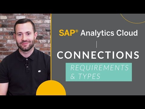Connection Types and Technical Requirements in SAP Analytics Cloud