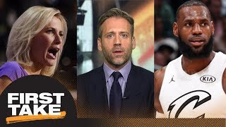 Max On Fox News Host Criticism Of Lebron James Im Not Surprised By It First Take Espn