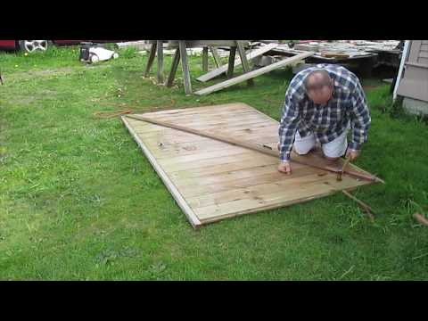 Utility Trailer Rebuild #12 Walking the Plank