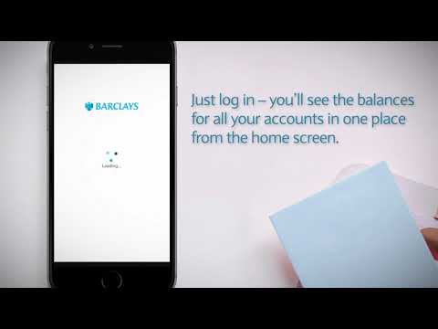 How to check your balance   Barclays Mobile Banking app