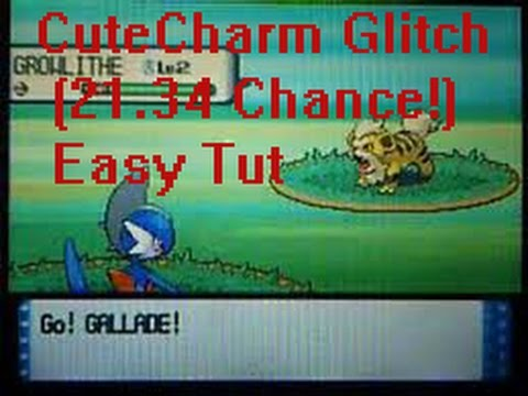 Pokemon HG/SS/D/P&Pt - How to Get Easy Shiny Using CuteCharm (The Easy WAY)