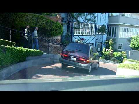 San Francisco: Driving down Lombard Street