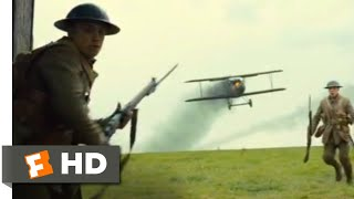 1917 (2019) - Biplane Crash Scene (2/10)   Movieclips