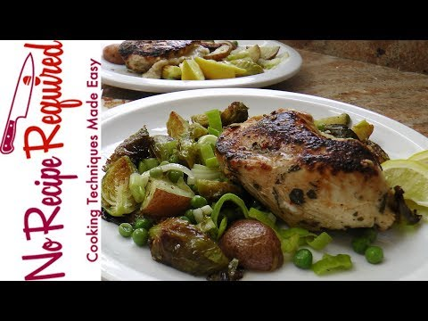Plated's Stuffed Chicken Fontina Recipe - NoRecipeRequired.com