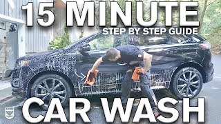 Download 15 Minute Car Wash: Water vs No Water Video