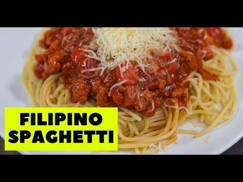 Filipino Spaghetti Jollibee Recipe
