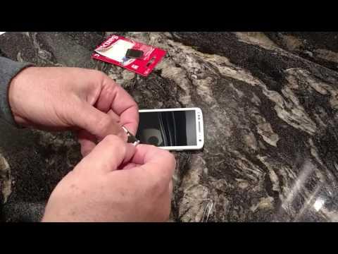 Easy Install Micro SD Card Motorola Droid Turbo 2