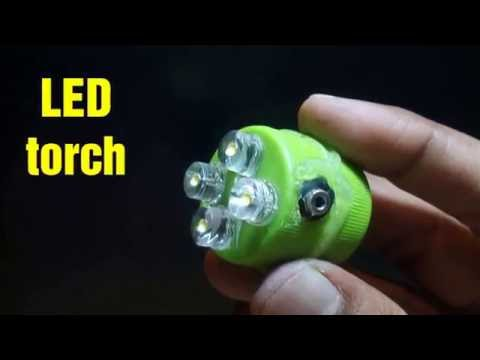 How to make LED torch create at home